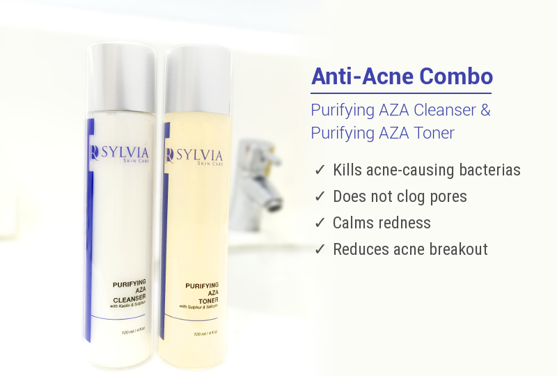 Purifying AZA Cleanser and Toner-texts