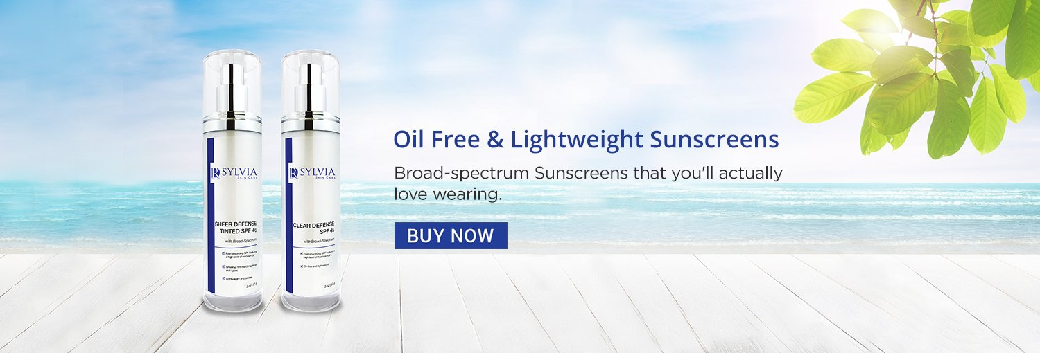 Oil Free Lightweight Sunscreens